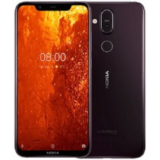 Nokia 8.1 64GB Dual SIM - Iron Purple