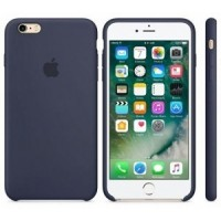 iphone 7 / 8 silicone case - dark blue