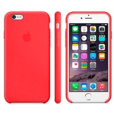 iphone 7 / 8 silicone case - red