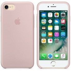 iphone 7 / 8 silicone case - sand pink